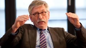 Sarrazin: Wir brauchen den europäischen Bundesstaat