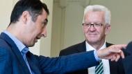 Das grüne Bund-Länder-Gefälle