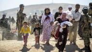 Ziel des IS ist ein Genozid an den Kurden