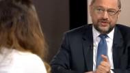 Viel Persönliches, wenig Konkretes: Die Youtube-Gemeinde weiß jetzt, wann bei Martin Schulz der Müll abgeholt wird – aber neue politische Erkenntnisse waren eher nicht dabei
