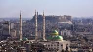 Die Altstadt von Aleppo mit der Zitadelle: Die syrische Armee soll diesen Teil der Stadt mittlerweile komplett unter ihrer Kontrolle haben.