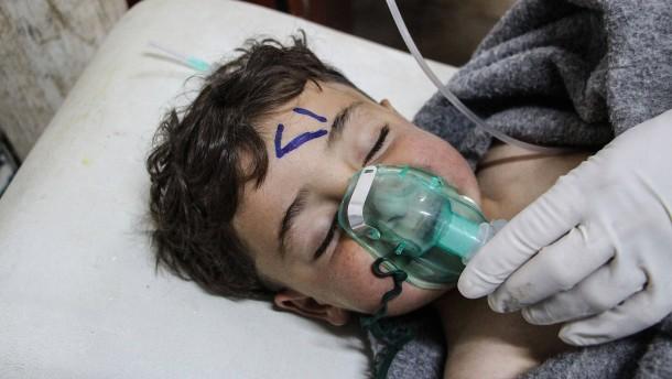 Russland nimmt Assad in Schutz