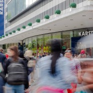 Im Schatten des Trubels: Mehrere Taschendiebe haben auf der Frankfurter Zeil versucht, Passanten auszurauben.