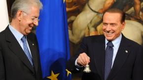 Monti und Berlusconi