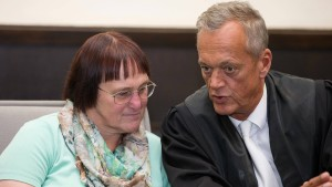 Verteidiger forderten Freilassung von Angelika W.