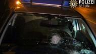 Emotionale Botschaft nach Steinwürfen auf Polizisten