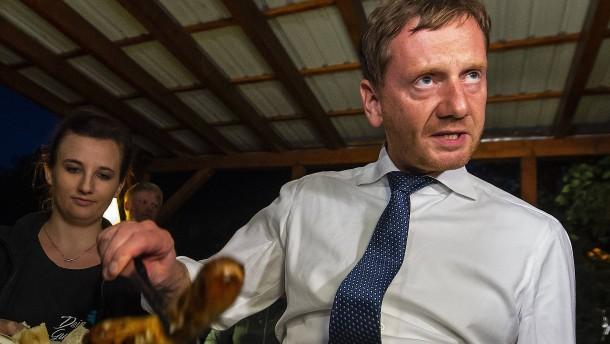Kretschmer: Maaßens Verhalten hat Sachsen geschadet