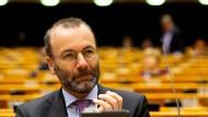 EVP-Fraktionschef Weber schlägt Sanktionen gegen Russland vor