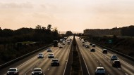 Knackpunkt Verkehrssektor: Ein Streckenabschnitt auf der A4