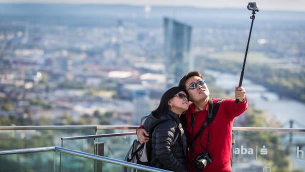 Stadt der Selfies