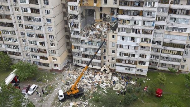 Gasexplosion in Kiew