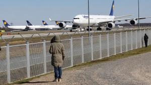 95 Prozent weniger Passagiere als vor einem Jahr