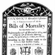 John Graunt sammelte nicht nur die Daten zu Geburt und Tod, er wollte auch verstehen, was sie bedeuten.