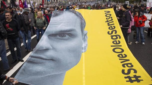 Amerika fordert sofortige Freilassung von Oleg Senzow