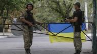 Verwirrung um angebliche Waffenlieferungen an die Ukraine
