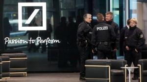 Die Deutsche Bank wird zur Rechtsabteilung