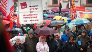 Gewerkschafter warnen vor Spaltung der Gesellschaft