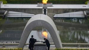 Japan gedenkt des Atombombenabwurfs vor 75 Jahren