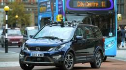 Briten testen autonome Autos ohne Sicherheitsfahrer