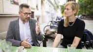 Wollen als Duo künftig die SPD führen: Staatsminister Michael Roth und Christina Kampmann