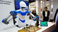 Schachmatt: In vielen Intelligenzspielen werden Menschen inzwischen von Robotern geschlagen.