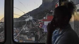 Rios Vorzeige-Favela versinkt im Drogenkrieg