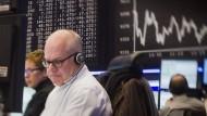 Profi: Ein Börsenhändler in Frankfurt