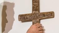 """Das Kreuz sei """"ein Zeichen des Widerspruchs gegen Gewalt, Ungerechtigkeit, Sünde und Tod, aber kein Zeichen gegen andere Menschen"""" so Kardinal Marx."""