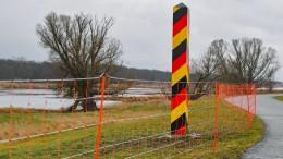 Sachsen baut Zaun an Grenze zu Polen