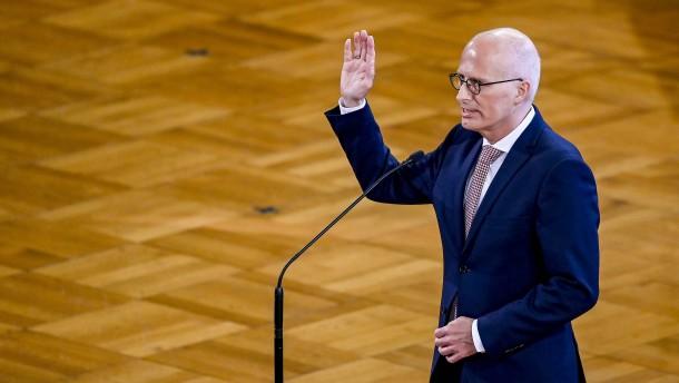 Tschentscher abermals zum Bürgermeister von Hamburg gewählt