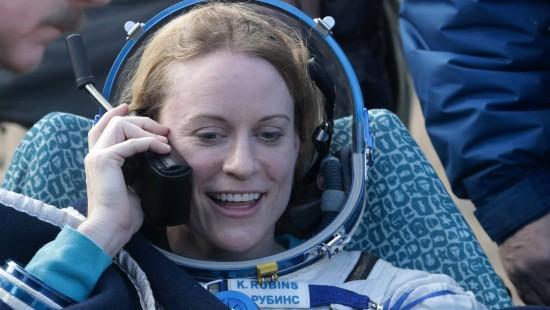 ISS-Astronauten landen sicher auf der Erde