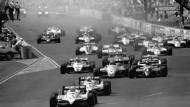 Parkplatzrennen: Am Caesar's Palace 1982 (v. Alain Prost)