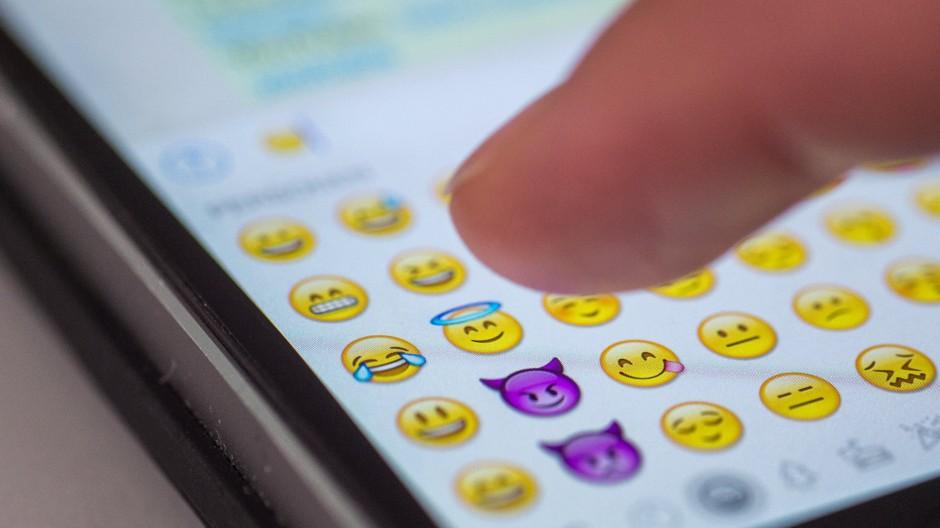 Der Freudentränen Smiley ist nach Angaben von Unicode der am häufigsten genutzte Emoji.