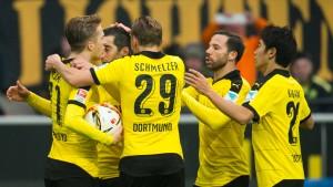 Ein Dortmunder Geduldsspiel