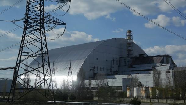Hohe Radioaktivität durch Waldbrand nahe Tschernobyl
