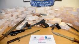 67 Kilo Amphetamin sichergestellt und vier Männer in U-Haft
