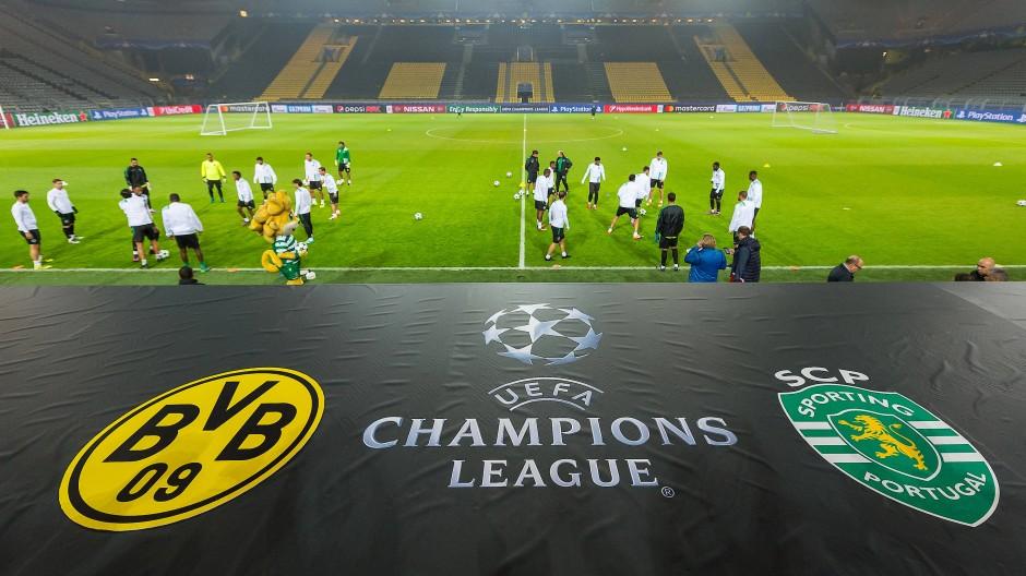BVB empfängt Sporting Lissabon