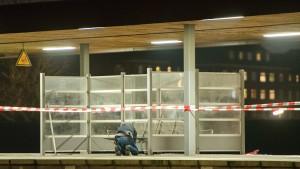 Festnahme nach Explosion auf Hamburger S-Bahnhof
