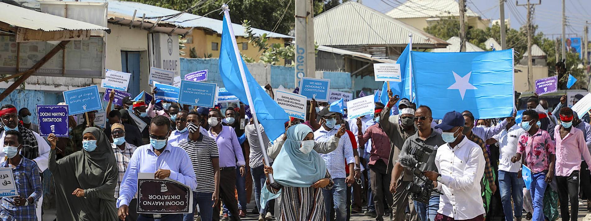 Gefechte in Somalias Hauptstadt Mogadischu