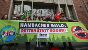 Umweltschützer unterliegen im Streit um Hambacher Forst