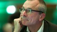 Volker Beck beim Listenparteitag der Grünen in Oberhausen: Wenig Aussicht, wieder in den Bundestag einzuziehen