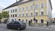 Das Geburtshaus Adolf Hitlers im österreichischen Braunau.