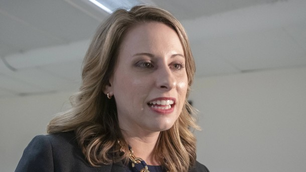Amerikanische Abgeordnete Katie Hill tritt zurück