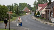 Viel Platz für wenige Menschen: Törpin, im Osten Mecklenburg-Vorpommerns, fühlt sich abgehängt.