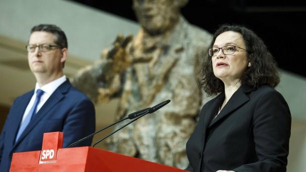 Ein SPD-Zeitplan gegen den Schmerz