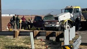 Mindestens 13 Tote bei schwerem Autounfall