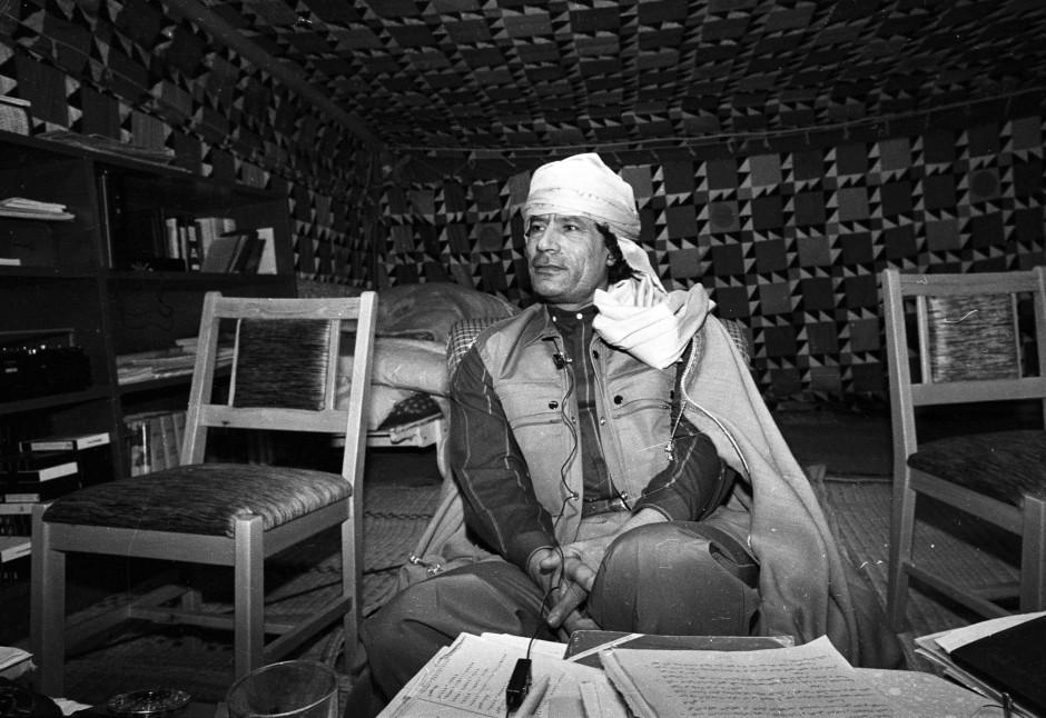 Gaddafi kam am 1. September 1969 an die Macht - und herrschte mehr als 40 Jahre lang