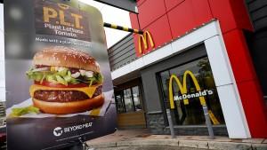 McDonalds entwickelt eigene fleischlose Burger