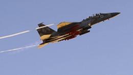 Israelische Luftwaffe beschießt Ziele nahe Damaskus