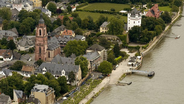 Abermals Schaumteppich auf dem Rhein entdeckt